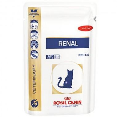 Cat Renal Beef konservuotas ėdalas