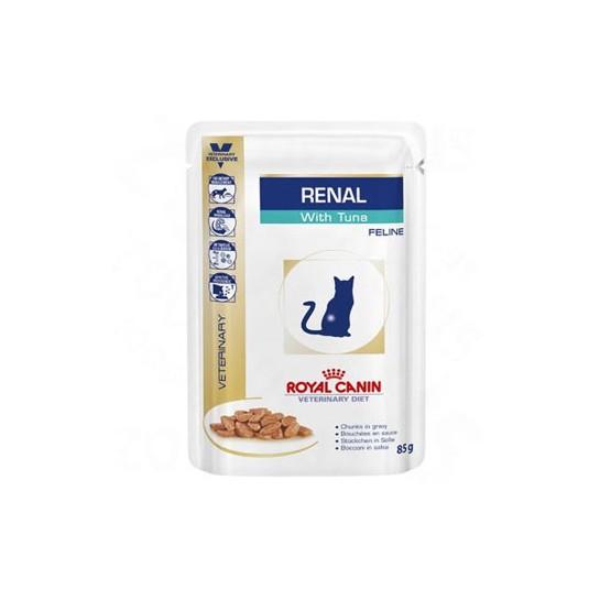 Cat Renal Tuna konservuotas ėdalas