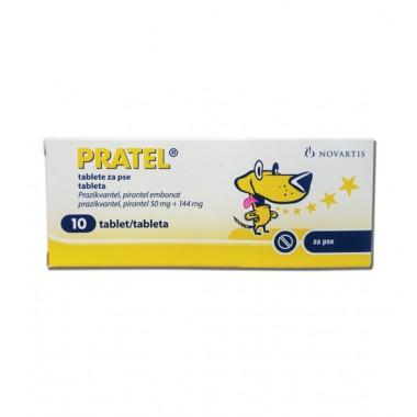 PRATEL, tabletės šunims (N10)