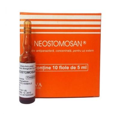 NEOSTOMOSAN koncentruotas tirpalas, (N1) ampuolės