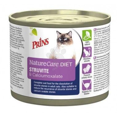 Prins NatureCare DIET Struvite&Calciumoxalate