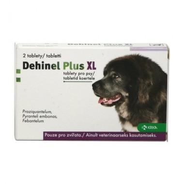 Dehinel Plus XL, tabletės N2
