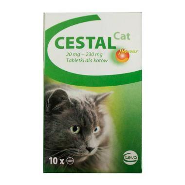 Cestal cat, tabletė nuo kirminų