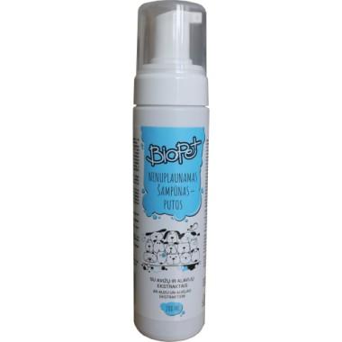 Nenuplaunamas šampūnas-putos, BioPet