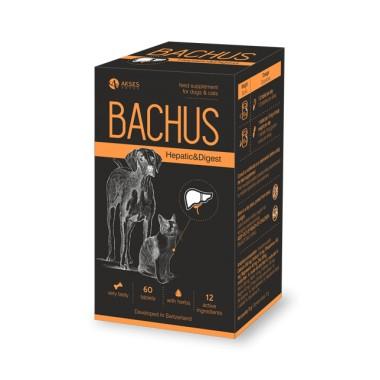 Bachus Hepatic&Digest, (N60) kepenims ir skrandžiui