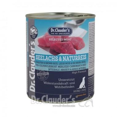 Dr. Clauder's drėgnas maistas šunims su menke ir rudaisiais ryžiais imunitetui stiprinti