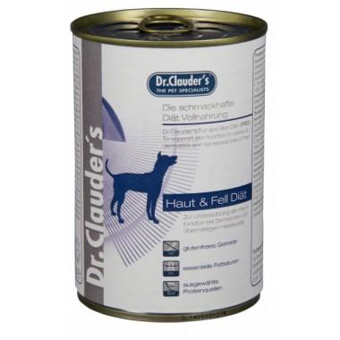 """Dr. Clauder's """"Fur & Skin"""" drėgnas maistas odos problemų turintiems šunims"""