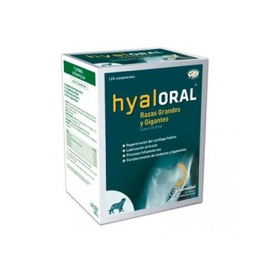 Hyaloral Large and Giant breeds, таблетки (N12)